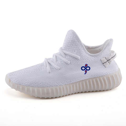 Infinite BOOST 350 Crisp White Sneakers