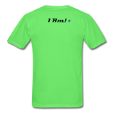 Work In Progress, I Am Men's Custom T-Shirt - kiwi