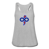 Women's Flowy Tank Top by The Infinite Intel - heather gray