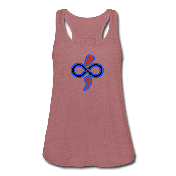 Women's Flowy Tank Top by The Infinite Intel - mauve