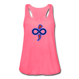 Women's Flowy Tank Top by The Infinite Intel - neon pink