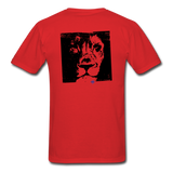 Custom T-Shirts Her King - red