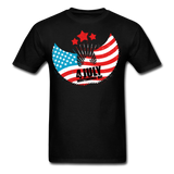 4th of July Independence Day Celebration Custom T-Shirts - black
