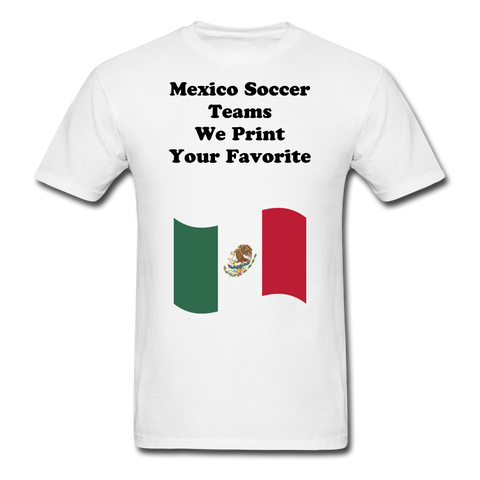 Mexico Soccer Shirts - white
