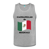 Cachanillas de Mexicali Custom Tank Top - heather gray