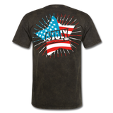 4th of July Independence Day Celebration Custom T-Shirts - mineral black