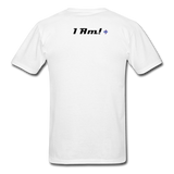 Work In Progress, I Am Men's Custom T-Shirt - white