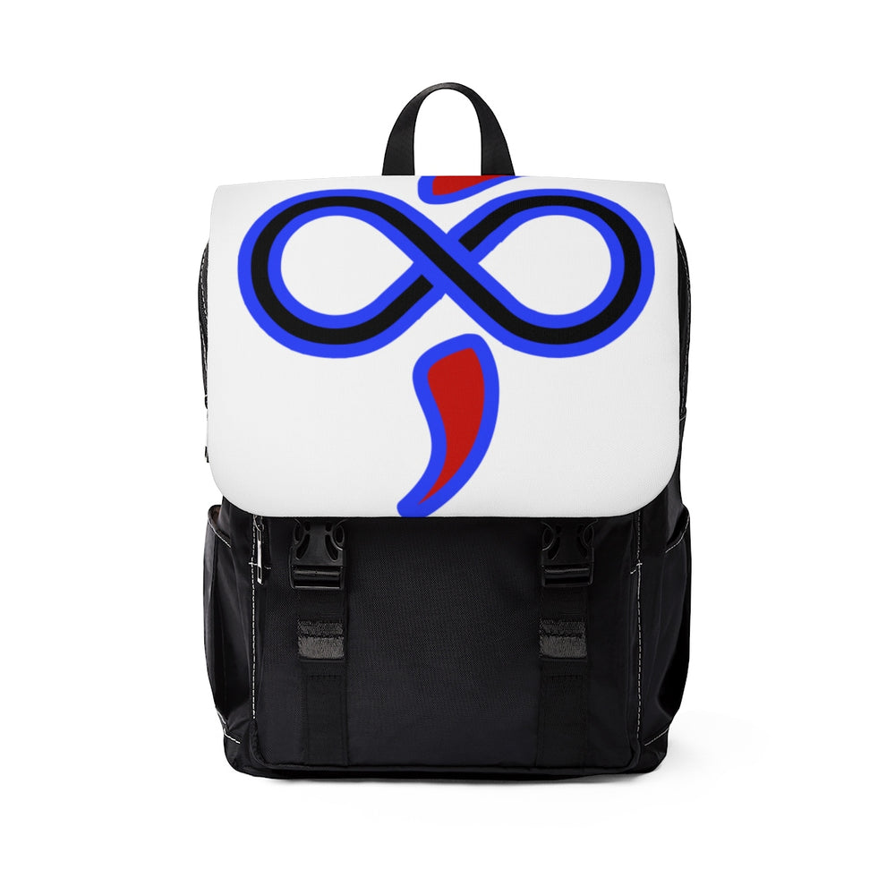 The Infinite Intel Style Custom Designed Casual Shoulder Backpack