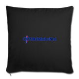 The Infinite Intel Home Accent Throw Pillows - black