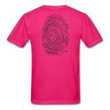The Infinite Prints Official Custom Tee - fuchsia