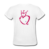 His Queen Custom Women's T-Shirt - white