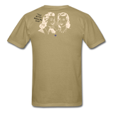 That BITCH Talking Behind My Back Custom T-Shirts for Men & Women - khaki
