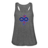 Women's Flowy Tank Top by The Infinite Intel - deep heather