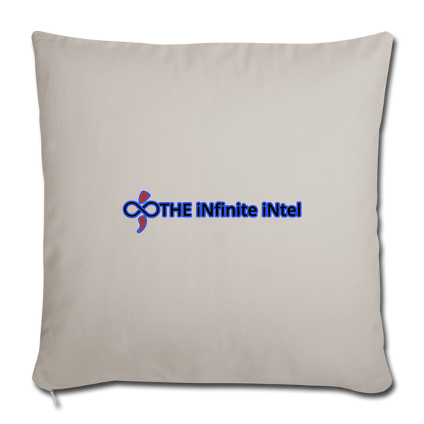The Infinite Intel Home Accent Throw Pillows - light grey