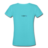 Ms. BITCH Custom T-Shirts - aqua