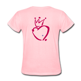 His Queen Custom Women's T-Shirt - pink