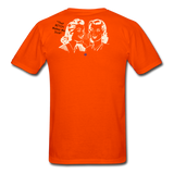 That BITCH Talking Behind My Back Custom T-Shirts for Men & Women - orange