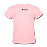 Work In Progress, I Am Women's Custom T-Shirts - pink