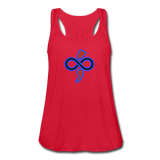 Women's Flowy Tank Top by The Infinite Intel - red