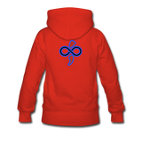 Cancer is No Match Hoodie - red