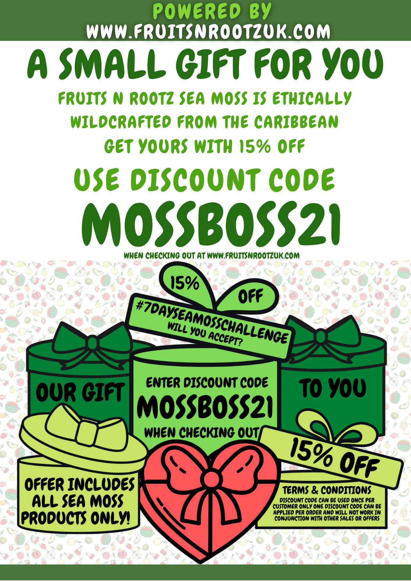 Fruits N' Rootz | Adding Sea Moss to Food