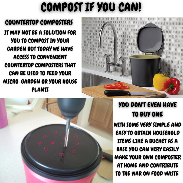 Fruits N Rootz | Stop Food Waste Day | DIY Composter