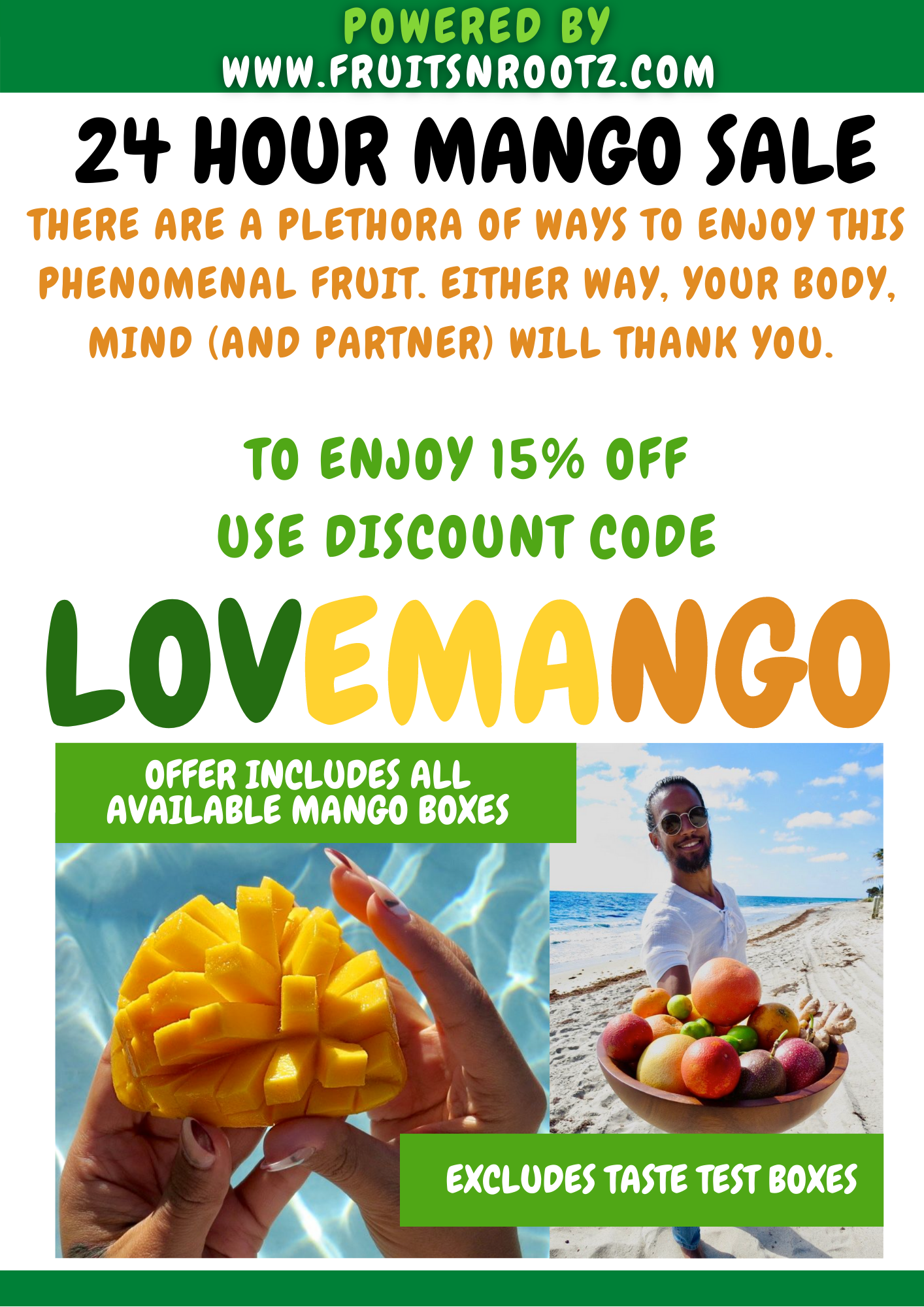 Fruits N Rootz | Why You Should Eat More Mango Sale