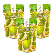 Organically Grown Soursop Leaf Tea fruit Fruits n' Rootz 3 Pack