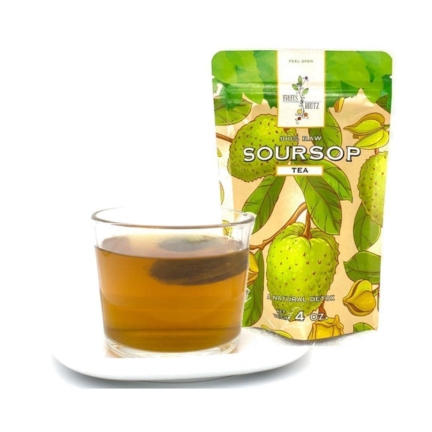 Organically Grown Soursop Leaf Tea fruit Fruits n' Rootz
