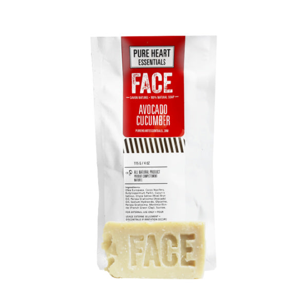 FACE – AVOCADO/ORGANIC CUCUMBER SOAP (VEGAN)