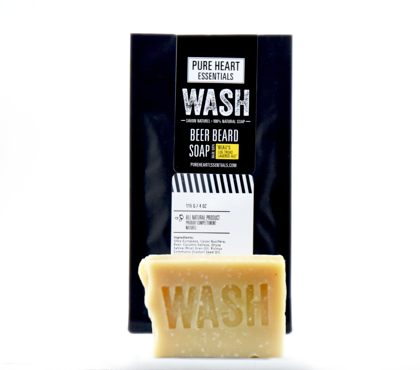 WASH – BEER BEARD SOAP (VEGAN)