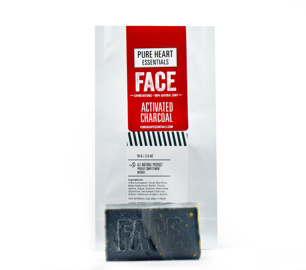 FACE – ACTIVATED CHARCOAL SOAP (VEGAN)