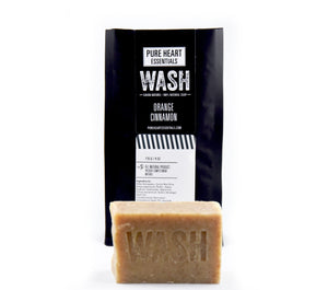 WASH – ORANGE/CINNAMON SOAP (VEGAN)