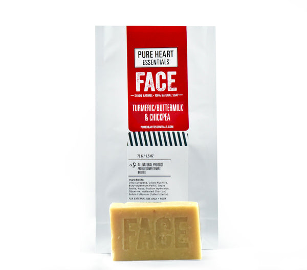 FACE – TUMERIC/BUTTERMILK/CHICKPEA FLOUR, AYURVEDIC FACIAL CARE
