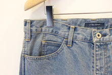 "Load image into Gallery viewer, LIVING CONCEPT ""5 POCKET WIDE TAPERED DENIM PANTS"" col.L.BLUE"