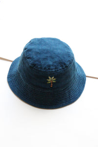 "STORY mfg. ""BUCKET HAT"" col.INDIGO"