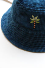 "Load image into Gallery viewer, STORY mfg. ""BUCKET HAT"" col.INDIGO"