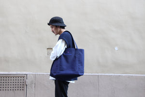 "1LDK PARIS ""TOTE BAG"" col. NAVY"