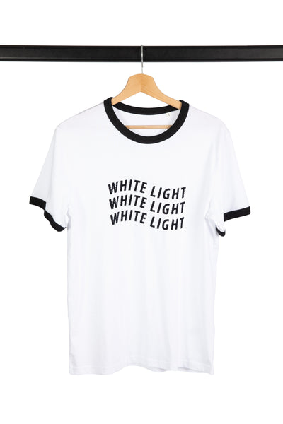 T-SHIRT WHITE LIGHT - market place éthique & eco responsable Jours à Venir