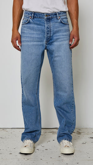 Just Junkies Wider Used Blue Jeans 548 Used Blue