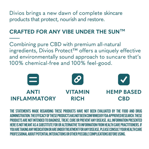 Protect - All-Natural Moisturizing CBD Sunscreen - Sheer
