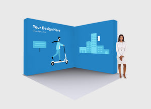 San Diego 10ft Lumière Light Wall Configuration B Printing