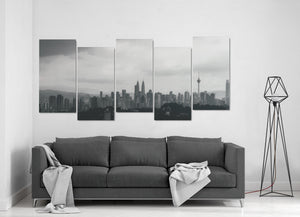 San Diego 5-Piece Canvas Printing