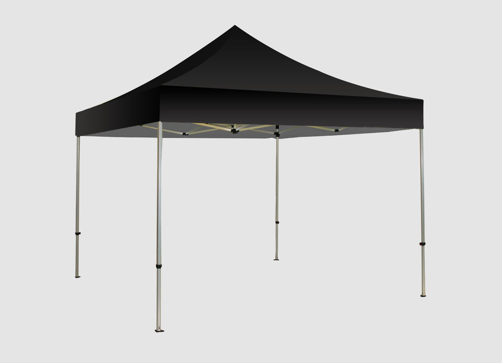 San Diego 10ft Black Canopy Tent – Urban Sign and Print
