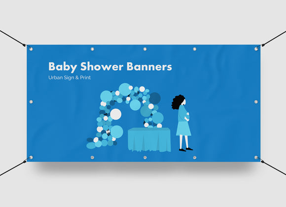 Baby Shower Banners San Diego