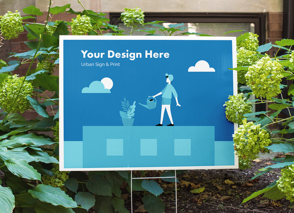 Custom Coroplast® Signs - Urban Sign and Print