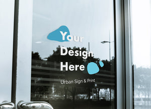 San Diego window lettering - Urban Sign and Print