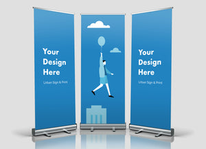 San Diego Econo Roll Retractable Banner Stands Printing