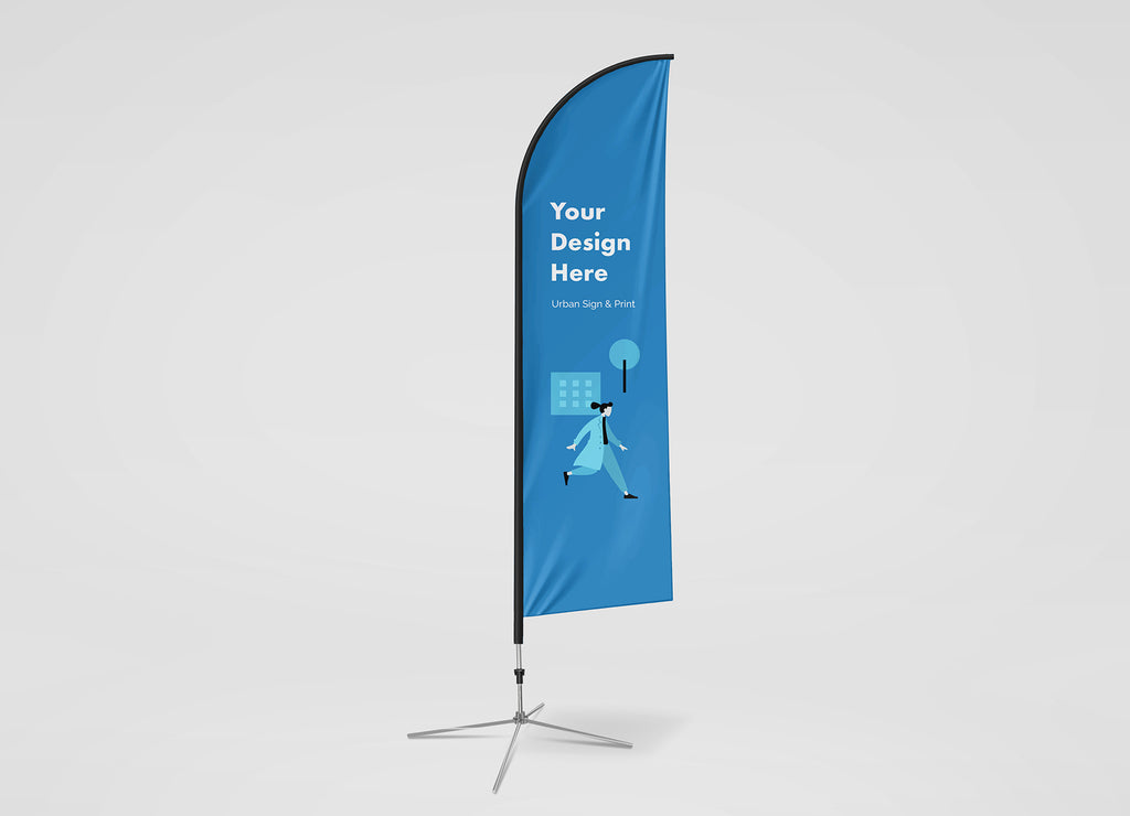 San Diego Feather Flag Banners - Urban Sign and Print