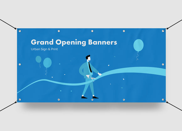 Grand Opening Banners San Diego